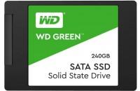 Жесткие диски, SSD WD SSD 2.5 Green 240GB SATA3 TLC (WDS240G2G0A)
