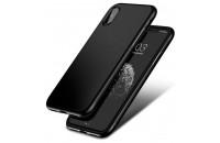 Аксессуары для мобильных телефонов Baseus iPhone X Bumper Case Black (WIAPIPHX-BM01)