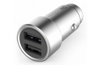 Кабели, зарядные уст-ва, аккумуляторы Xiaomi Car Charger Silver