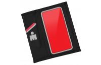 Аксессуары для мобильных телефонов Yurbuds iPhone 5/5S Ergosport Reflective Armsleeve Black/Red (YBIMARMS00BNR)