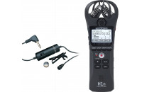 Диктофоны Zoom H1n + Audio-Technica ATR3350