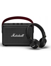 Акустика Marshall Summer Bundle (Kilburn II Black + Major III Bluetooth Black)