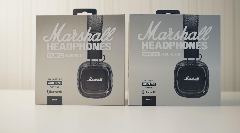сравнение оригинальных Marshall Major Ii Bluetooth с копией портатив